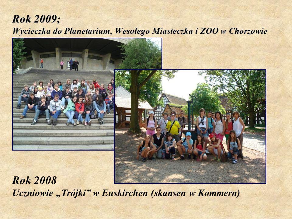 Rok 2009; Wycieczka do Planetarium, Wesołego Miasteczka i ZOO w Chorzowie