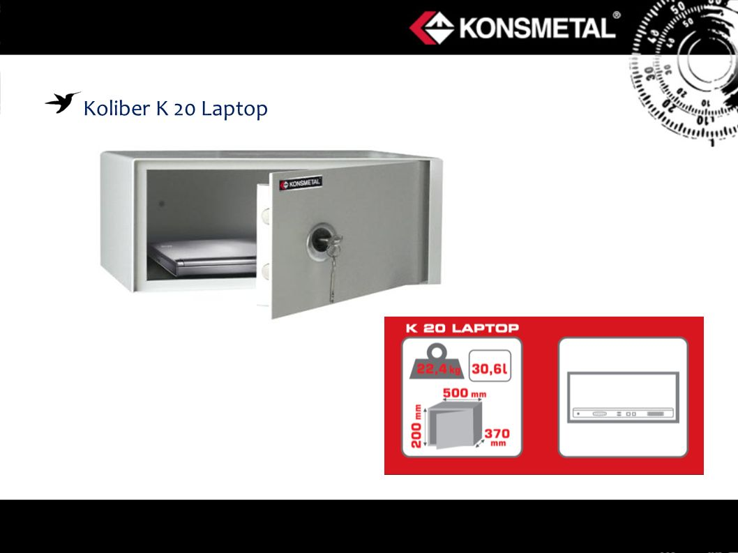 Koliber K 20 Laptop