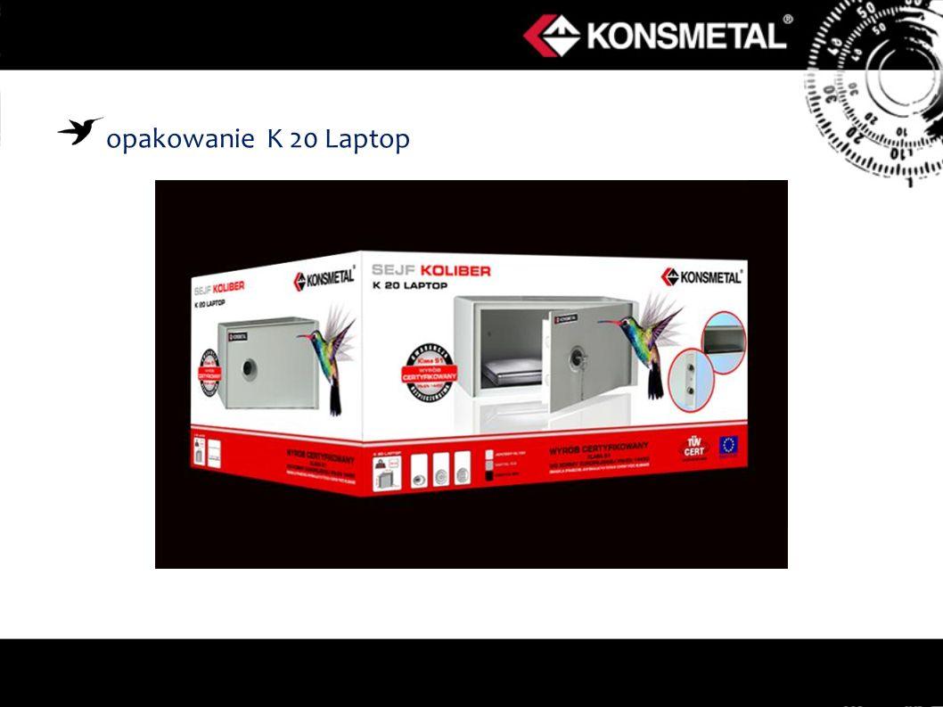 opakowanie K 20 Laptop