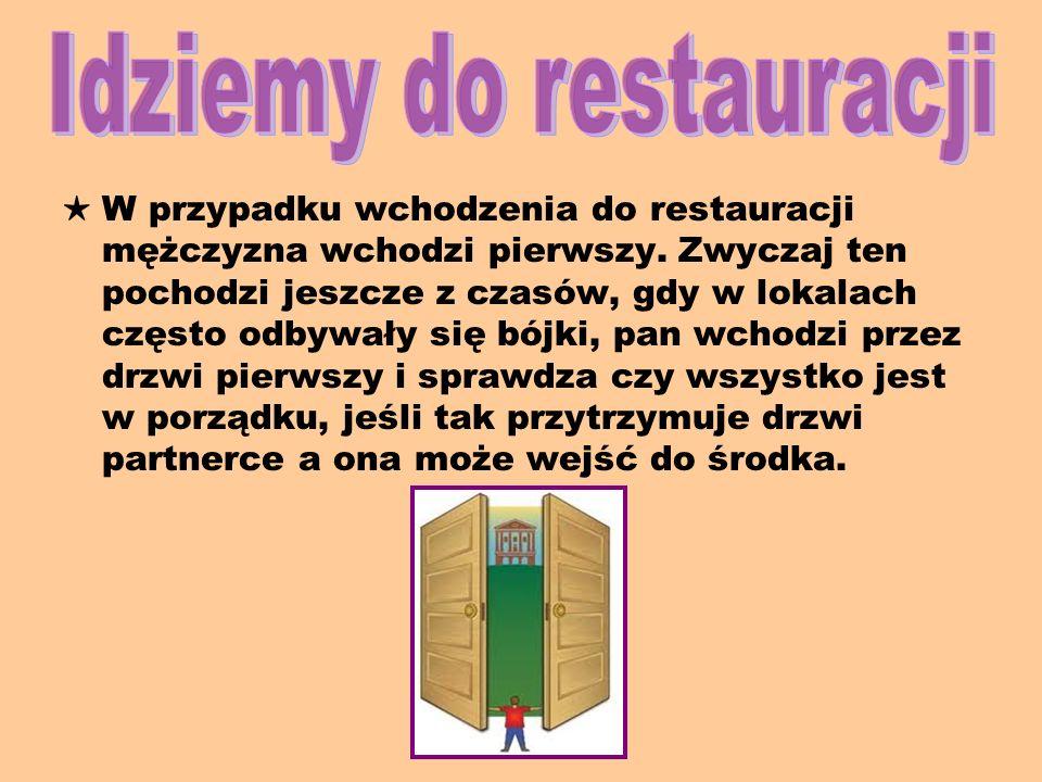 Idziemy do restauracji