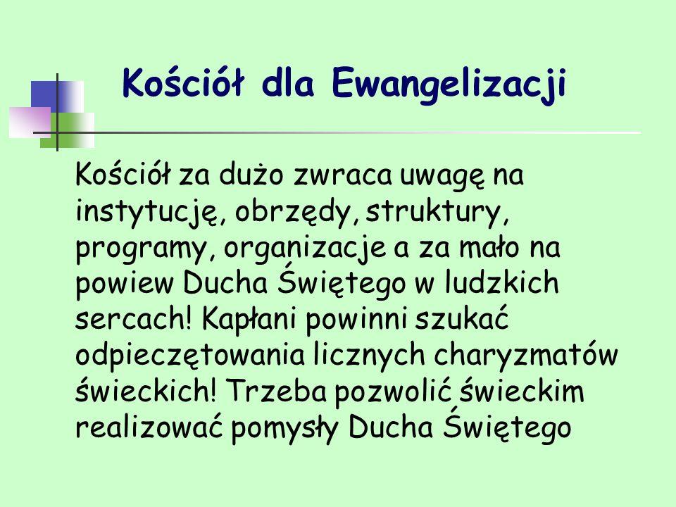 Kościół dla Ewangelizacji