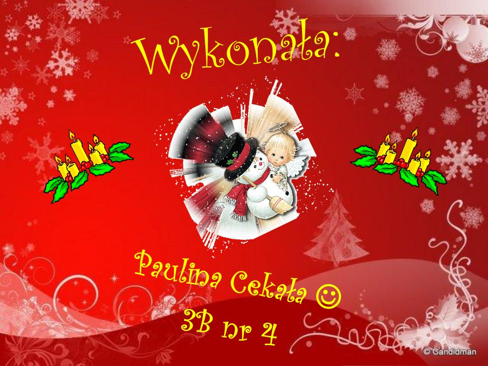 Wykonała: Paulina Cekała  3B nr 4