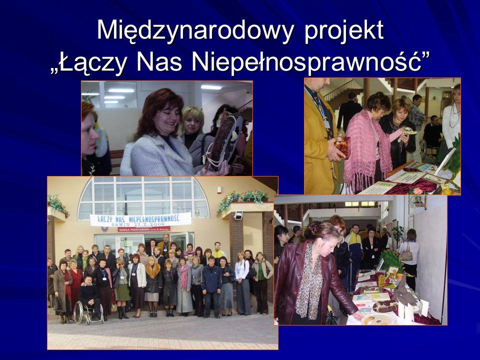 """Międzynarodowy projekt """"Łączy Nas Niepełnosprawność"""