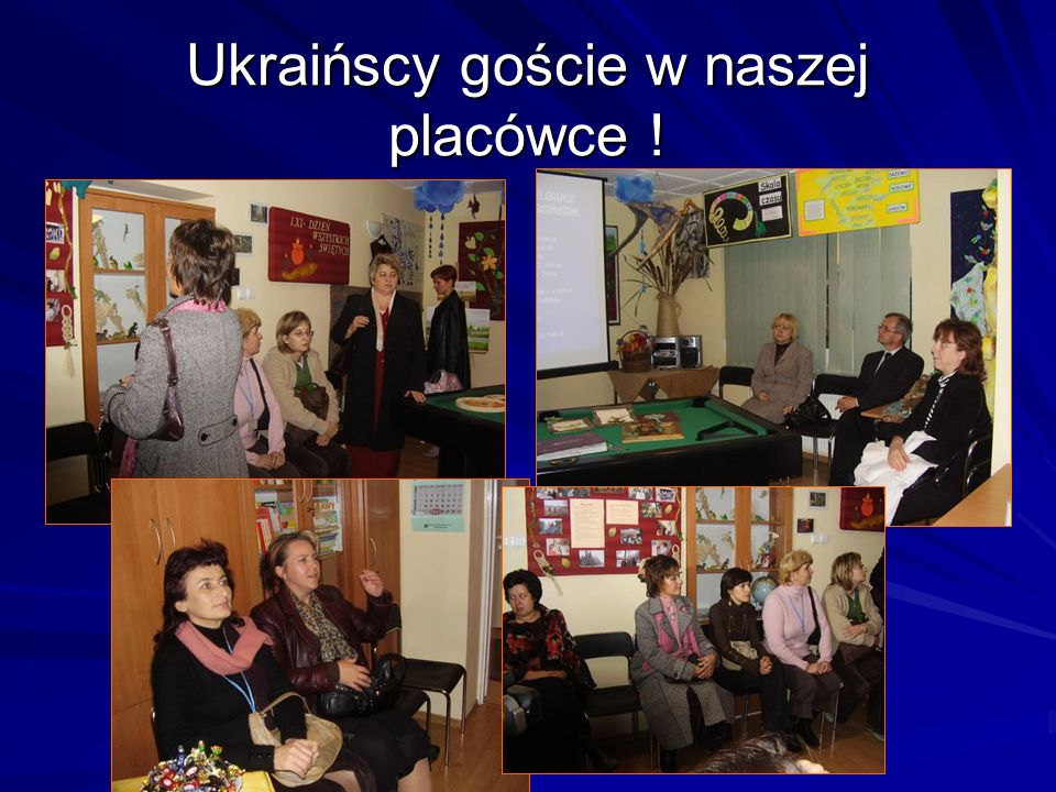 Ukraińscy goście w naszej placówce !