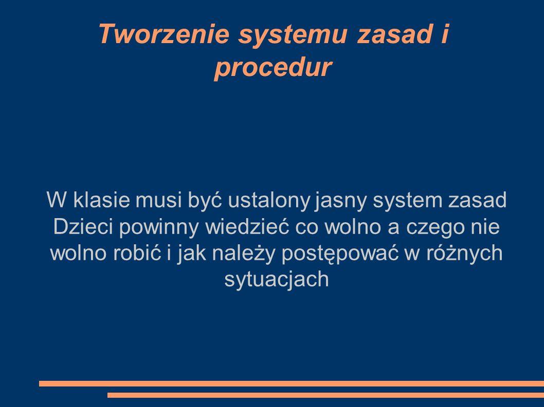 Tworzenie systemu zasad i procedur