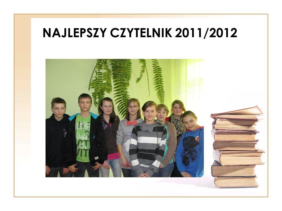NAJLEPSZY CZYTELNIK 2011/2012