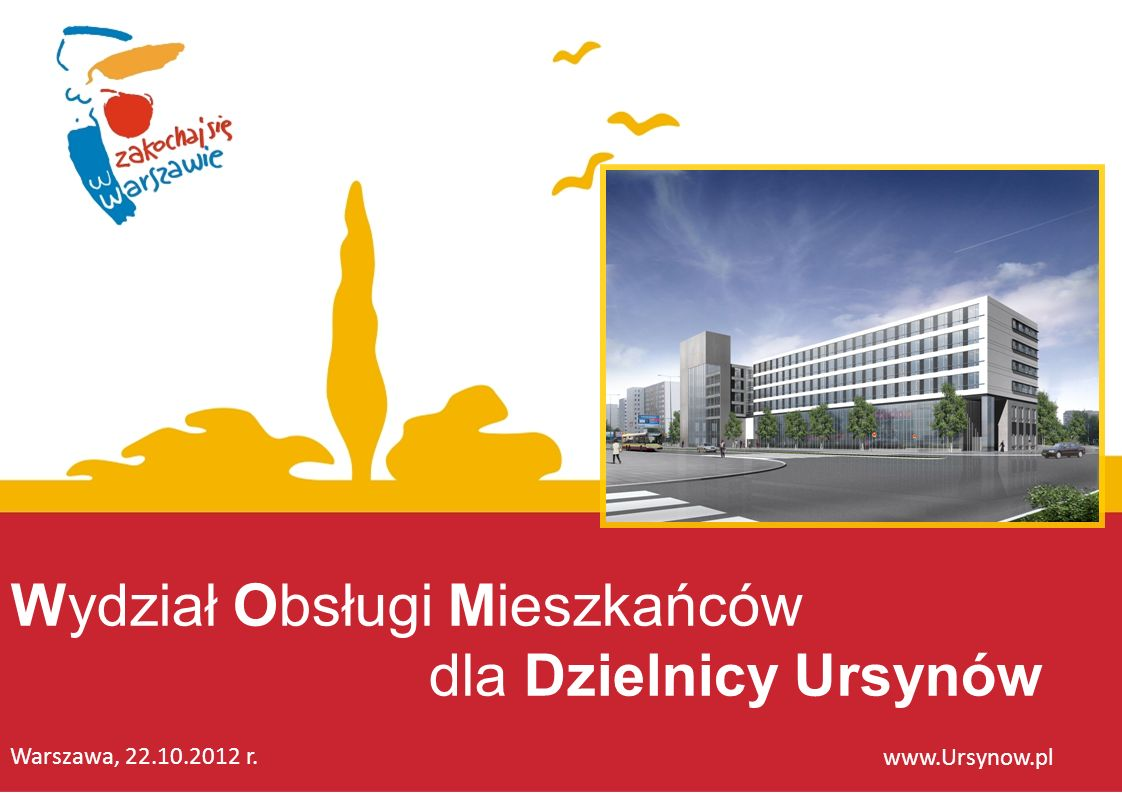 Wydział Obsługi Mieszkańców dla Dzielnicy Ursynów