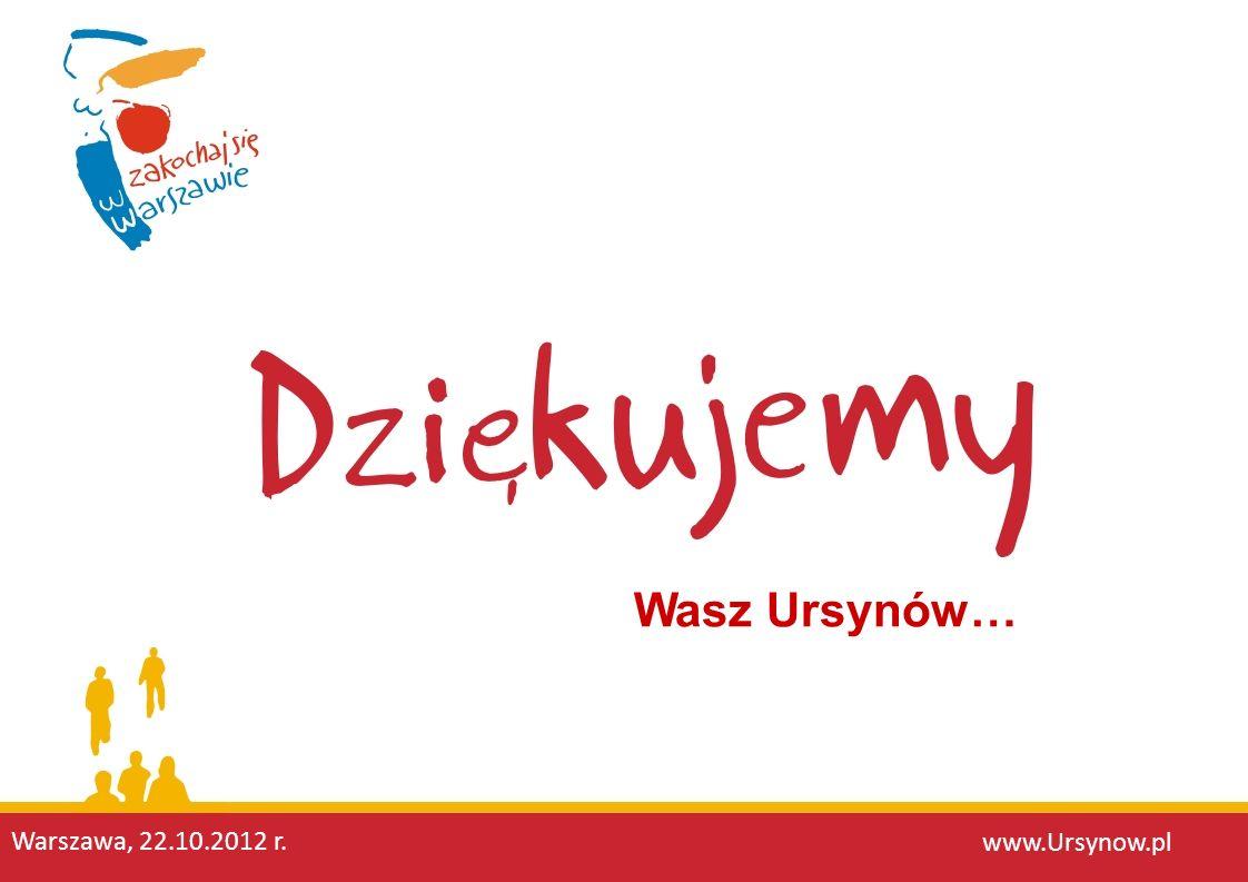 Wasz Ursynów… Warszawa, 22.10.2012 r. www.Ursynow.pl