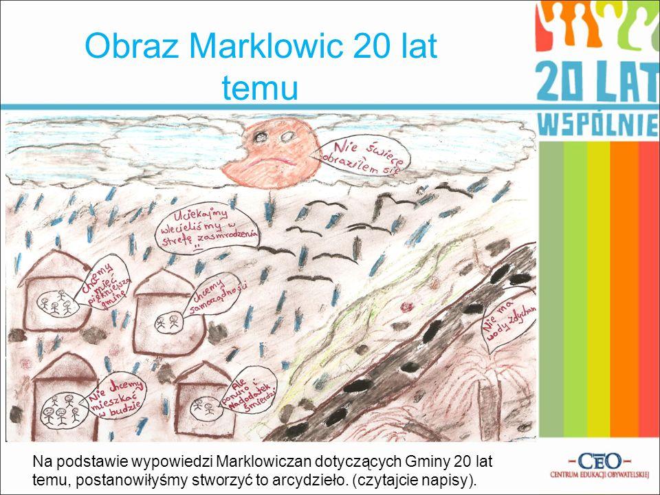 Obraz Marklowic 20 lat temu