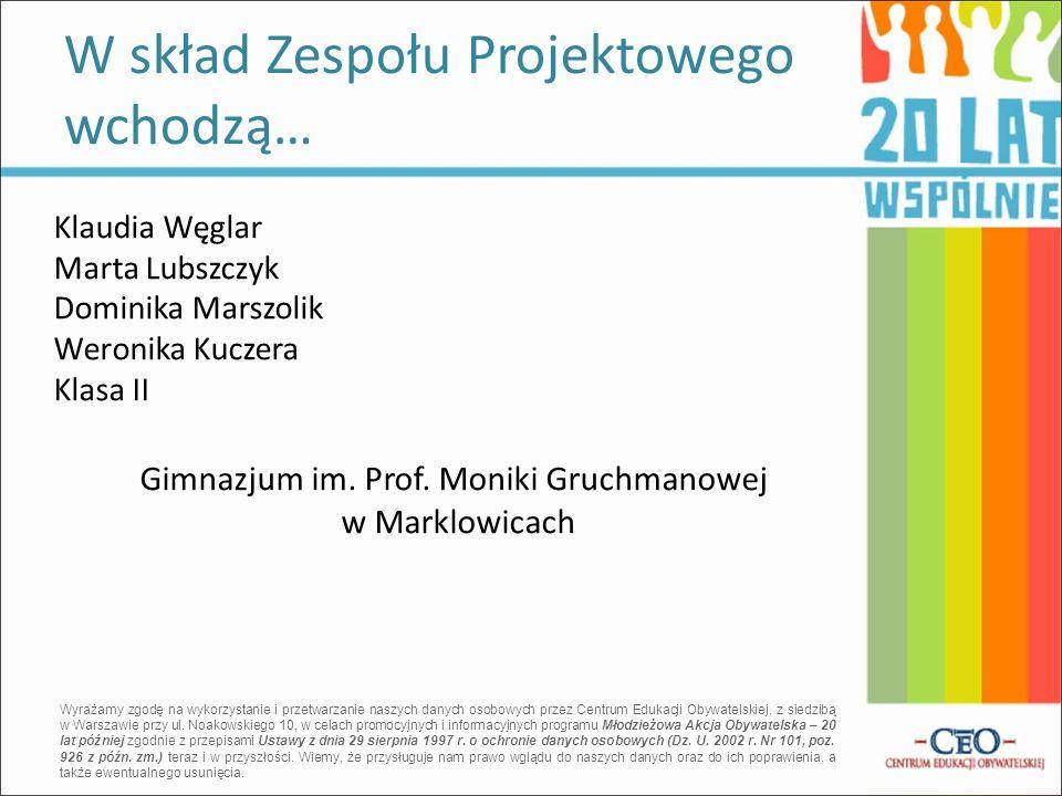 Gimnazjum im. Prof. Moniki Gruchmanowej w Marklowicach