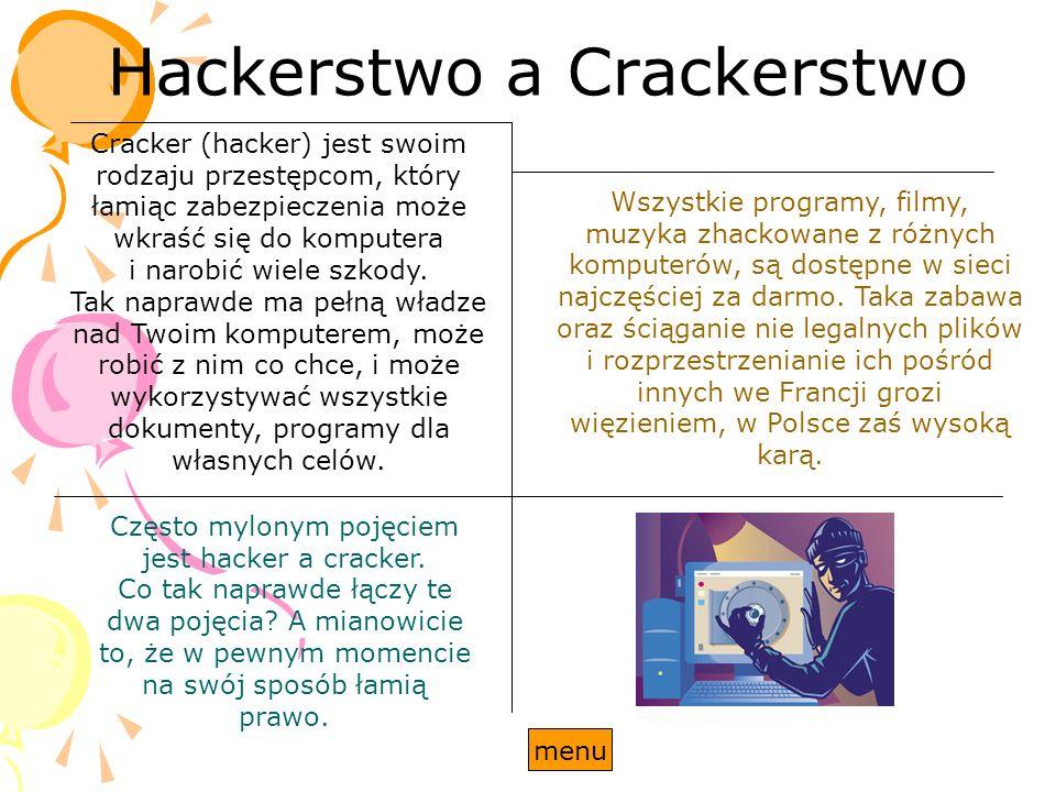 Hackerstwo a Crackerstwo