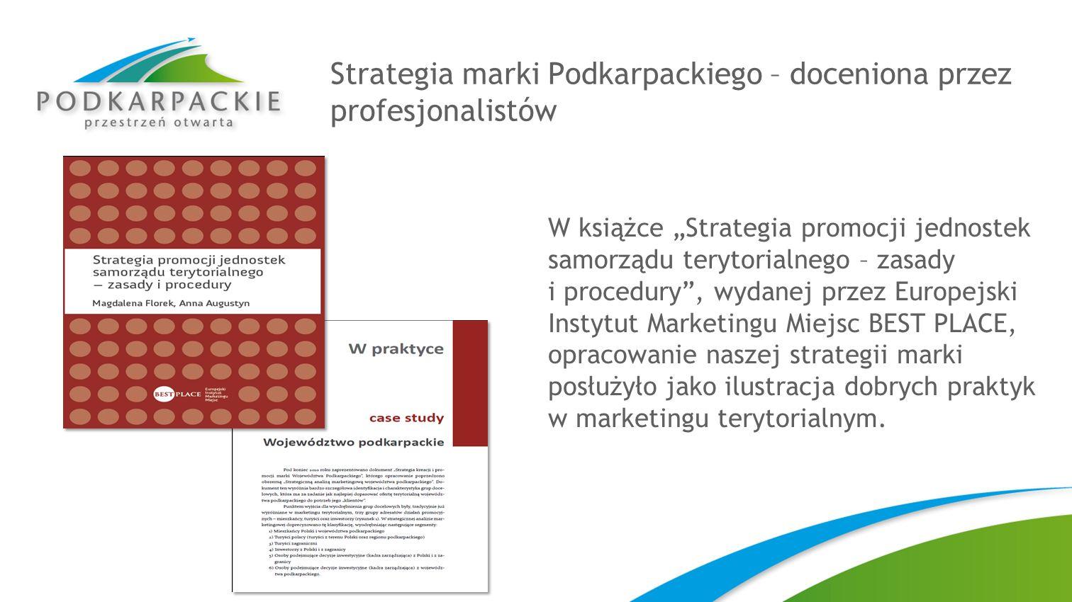 Strategia marki Podkarpackiego – doceniona przez profesjonalistów