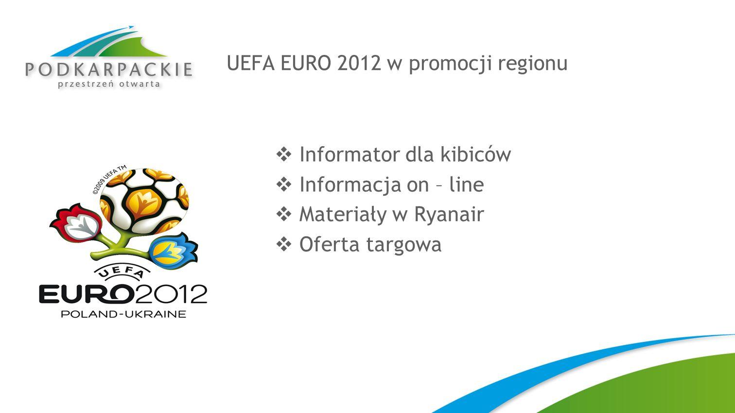 UEFA EURO 2012 w promocji regionu