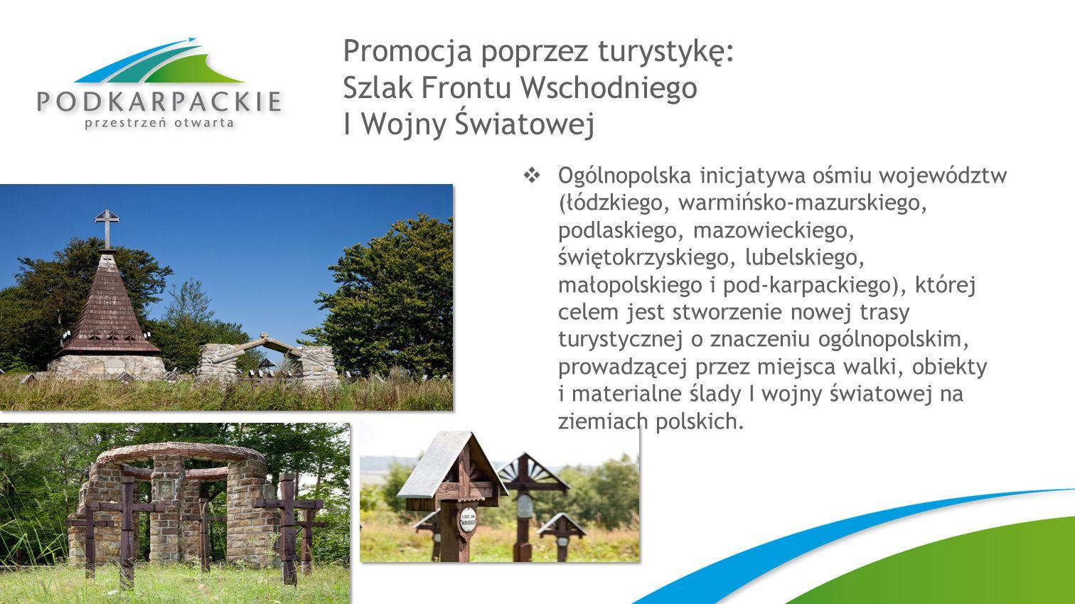 Promocja poprzez turystykę: Szlak Frontu Wschodniego I Wojny Światowej