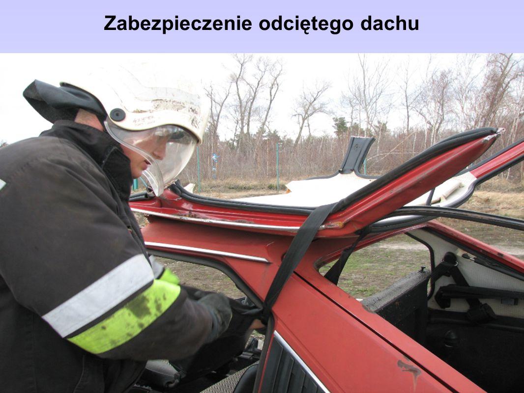 Zabezpieczenie odciętego dachu