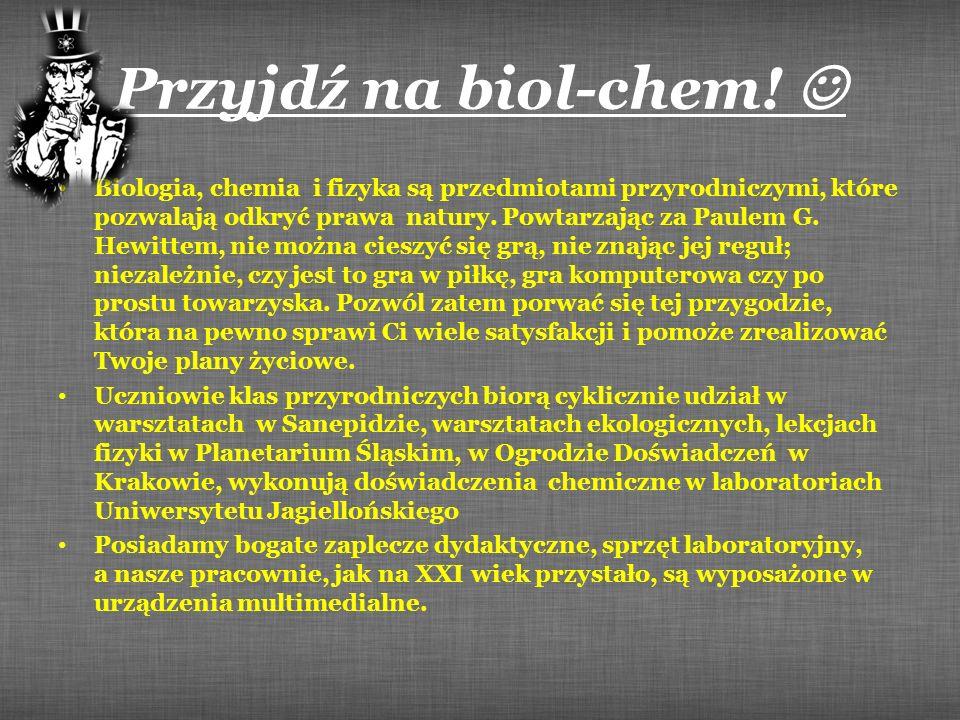 Przyjdź na biol-chem! 