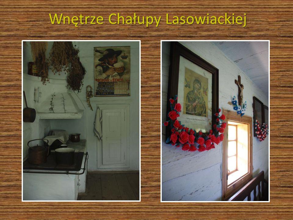 Wnętrze Chałupy Lasowiackiej