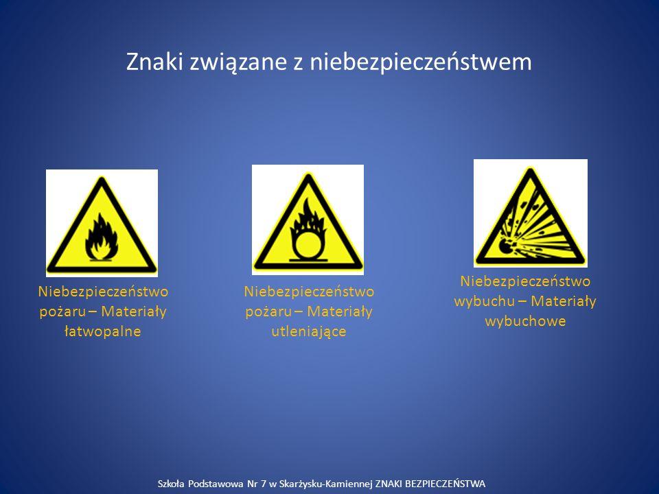 Znaki związane z niebezpieczeństwem