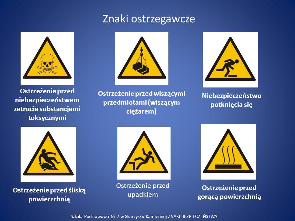Znaki ostrzegawcze Ostrzeżenie przed niebezpieczeństwem zatrucia substancjami toksycznymi.
