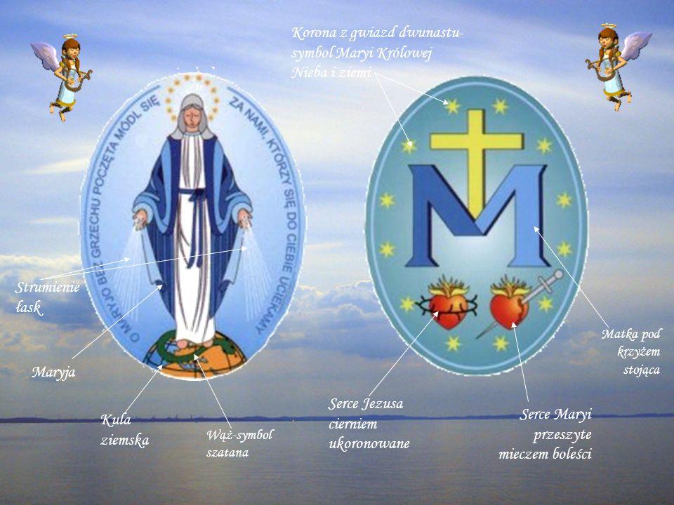 Korona z gwiazd dwunastu- symbol Maryi Królowej Nieba i ziemi