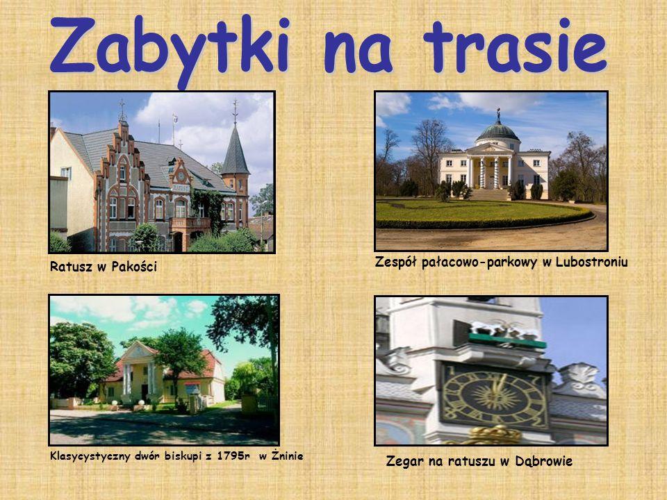 Zabytki na trasie Zespół pałacowo-parkowy w Lubostroniu