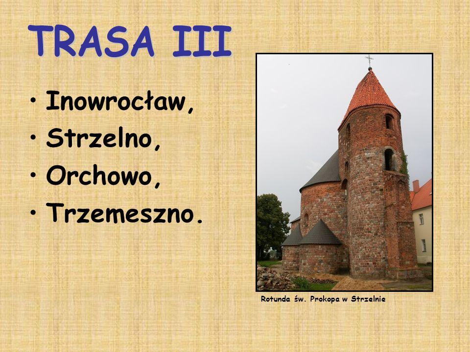 Inowrocław, Strzelno, Orchowo, Trzemeszno. TRASA III
