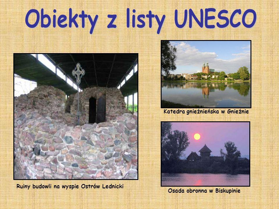 Obiekty z listy UNESCO Katedra gnieźnieńska w Gnieźnie