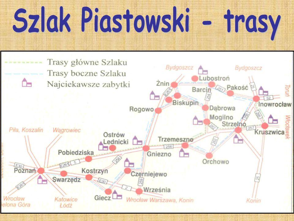 Szlak Piastowski - trasy