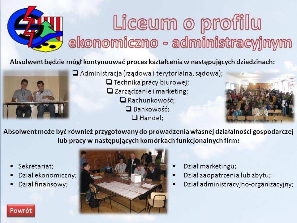 ekonomiczno - administracyjnym