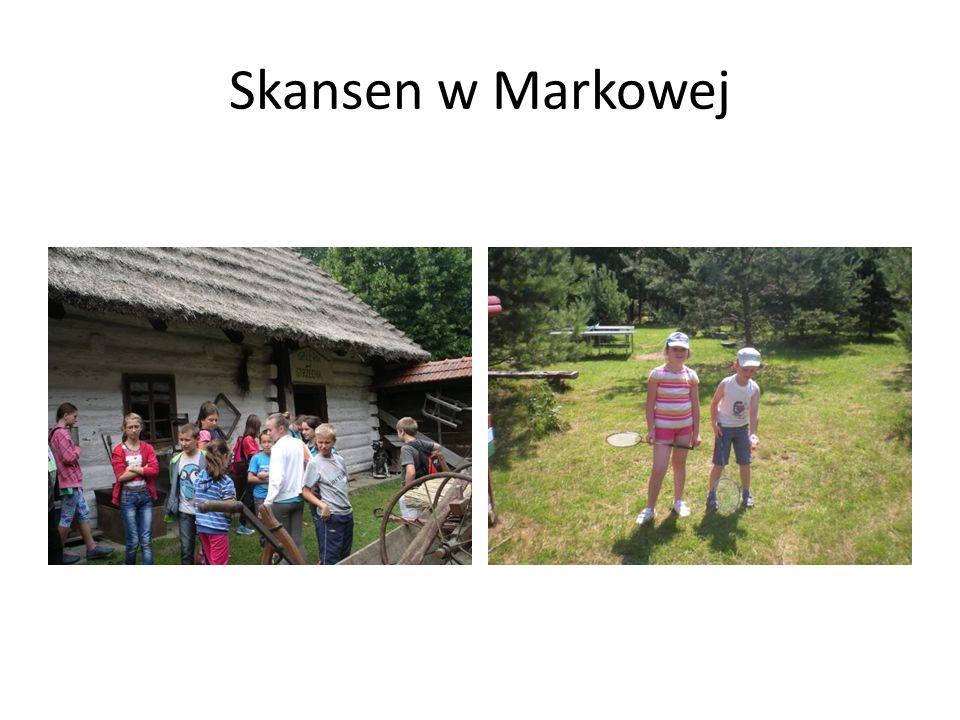 Skansen w Markowej