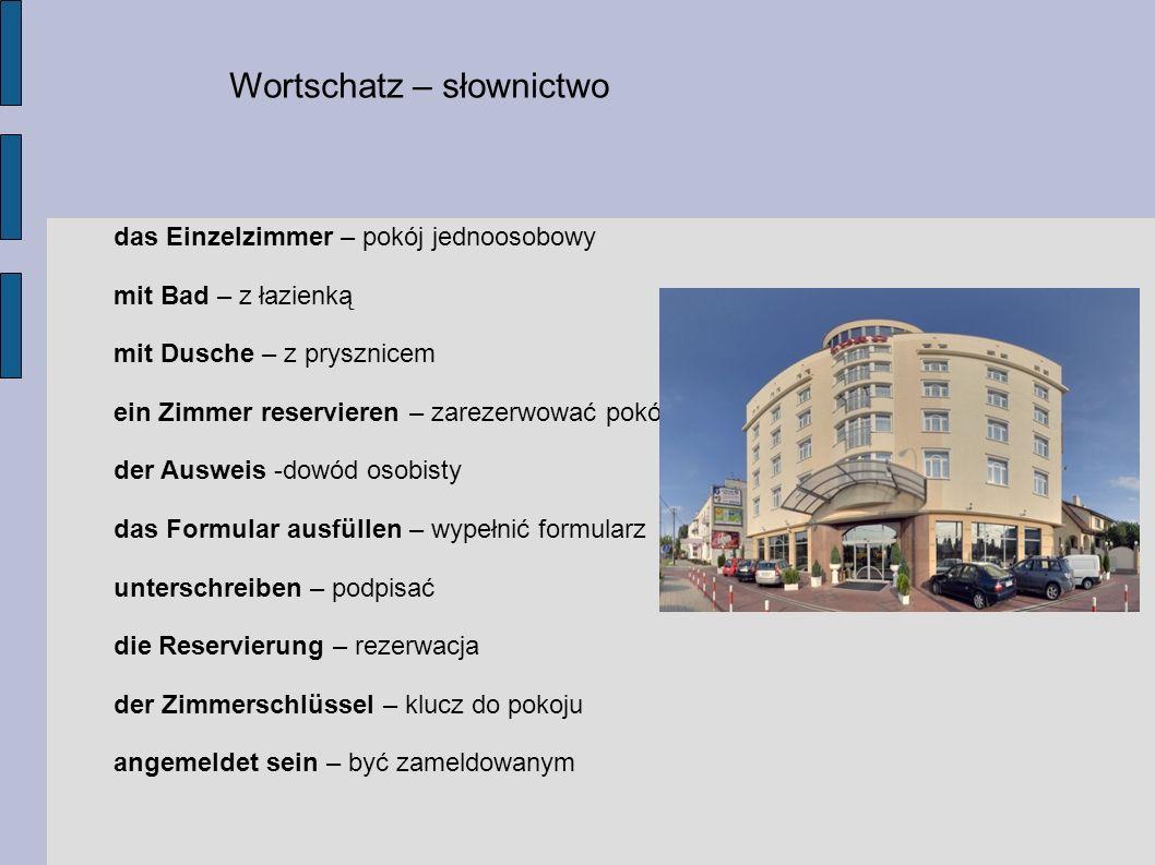 Wortschatz – słownictwo