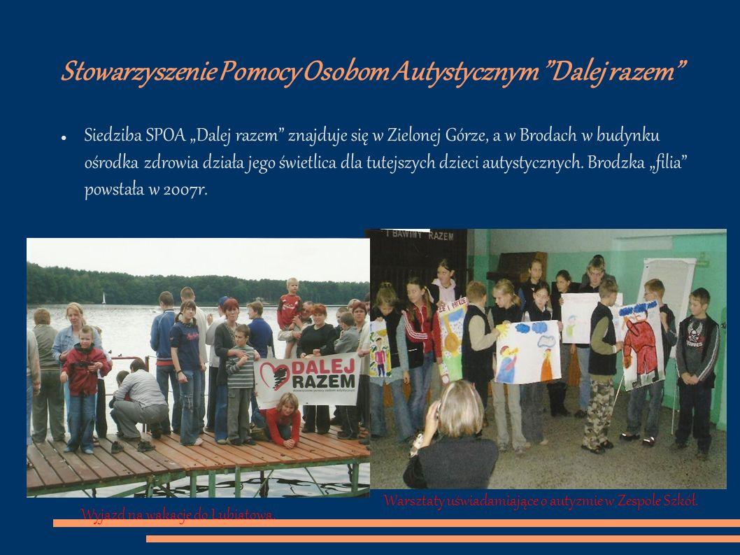 Stowarzyszenie Pomocy Osobom Autystycznym Dalej razem