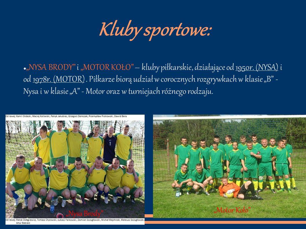 Kluby sportowe: