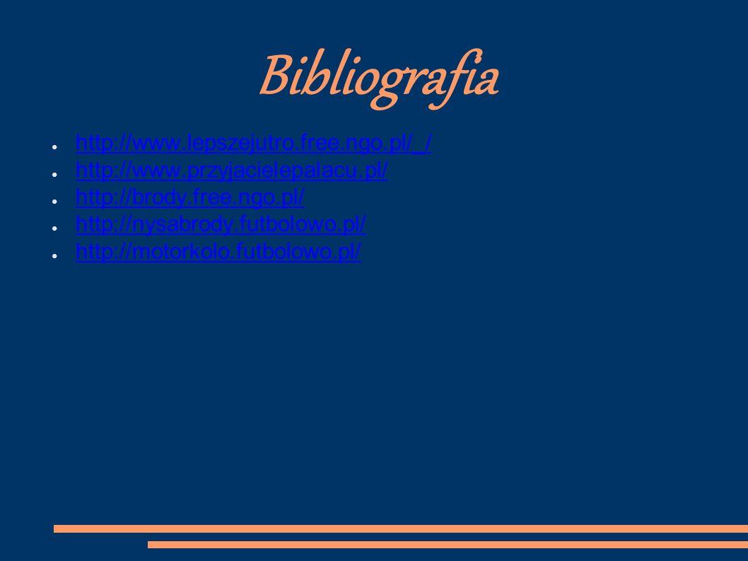 Bibliografia http://www.lepszejutro.free.ngo.pl/_/