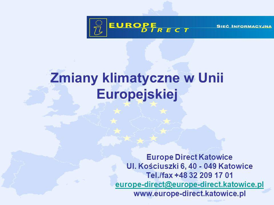 Zmiany klimatyczne w Unii Europejskiej
