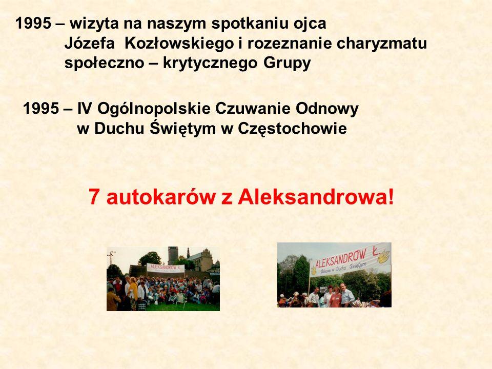 7 autokarów z Aleksandrowa!