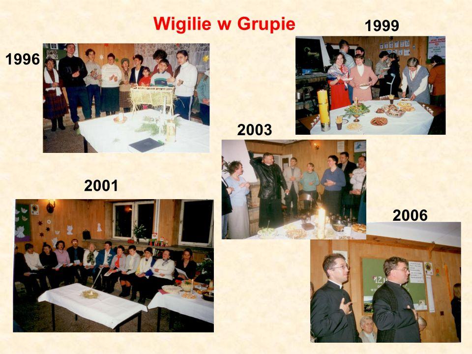 Wigilie w Grupie 1999 1996 2003 2001 2006