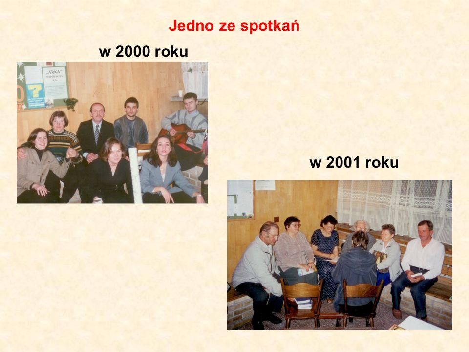 Jedno ze spotkań w 2000 roku w 2001 roku
