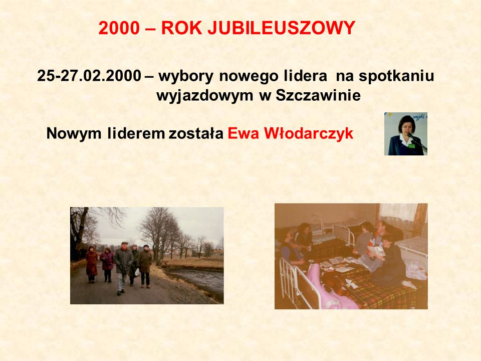 2000 – ROK JUBILEUSZOWY