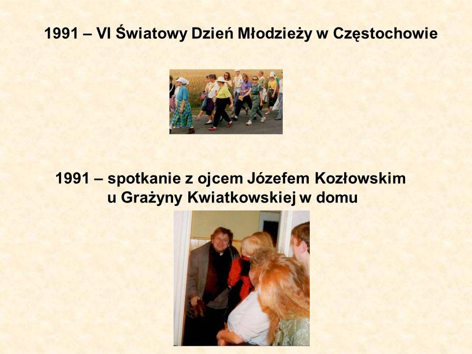 1991 – VI Światowy Dzień Młodzieży w Częstochowie