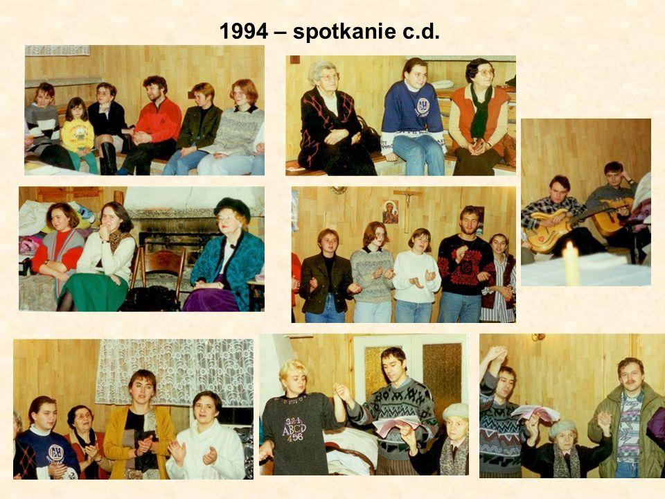 1994 – spotkanie c.d.