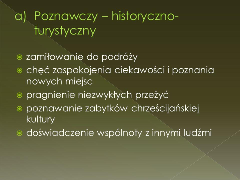 Poznawczy – historyczno-turystyczny