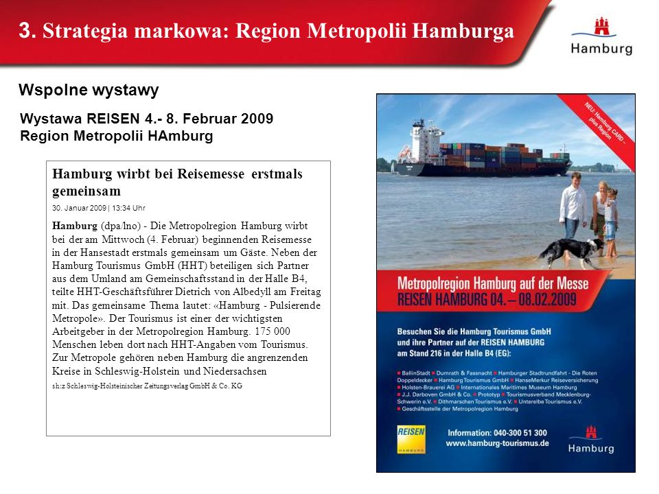 3. Strategia markowa: Region Metropolii Hamburga