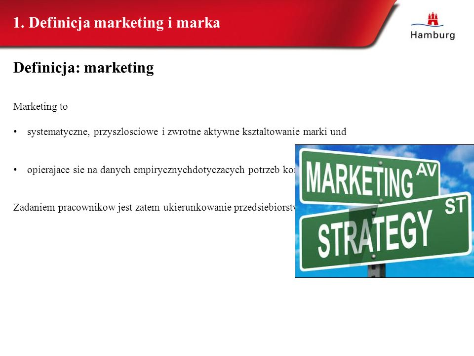 1. Definicja marketing i marka