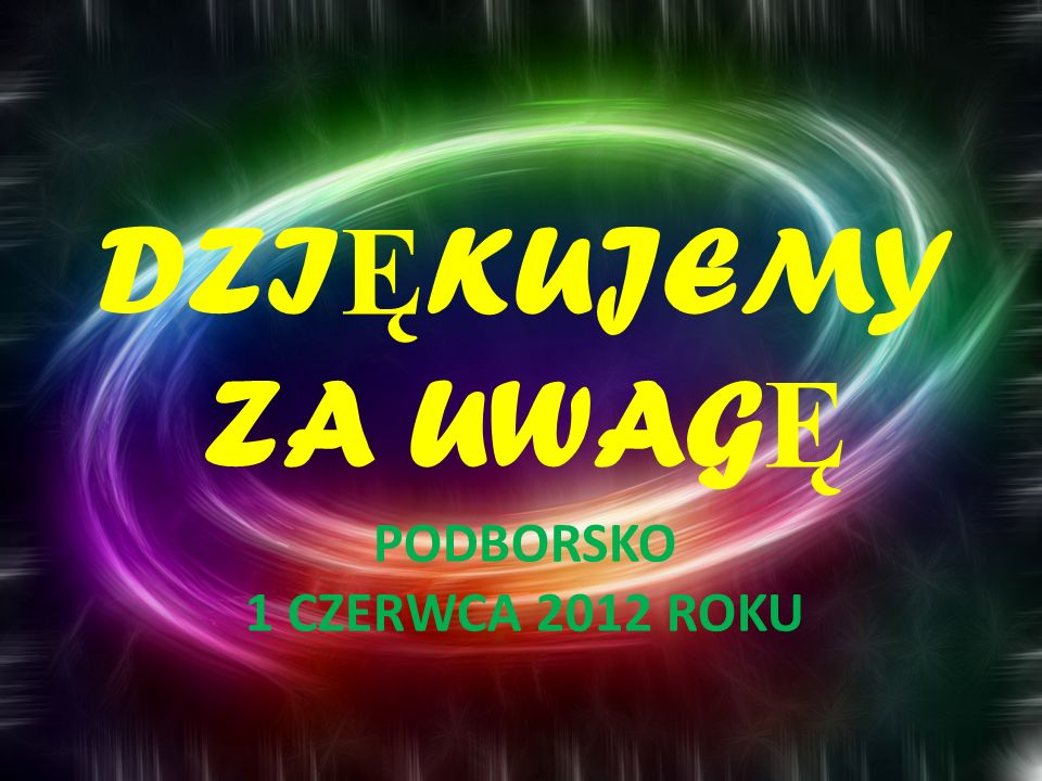 Podborsko 1 czerwca 2012 roku