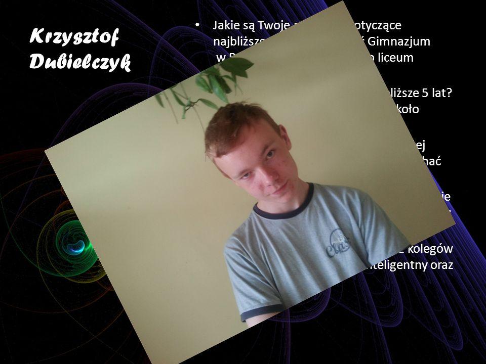 Krzysztof Dubielczyk