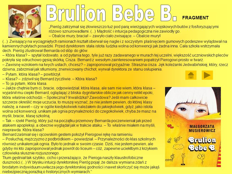 Brulion Bebe B. FRAGMENT