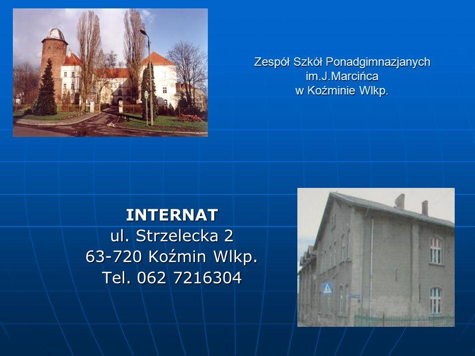 Zespół Szkół Ponadgimnazjanych im.J.Marcińca w Koźminie Wlkp.