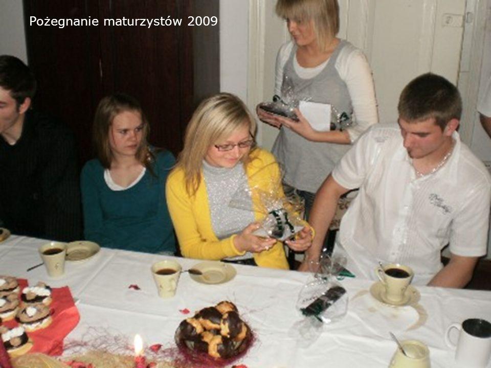 Pożegnanie maturzystów 2009