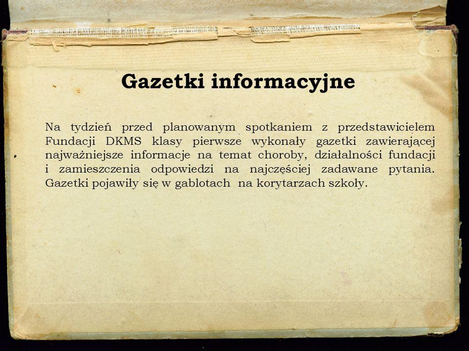 Gazetki informacyjne